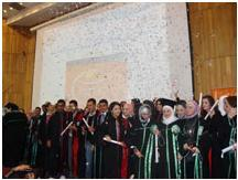 Graduation Ceremony Sponsorship for The Faculty of Pharmacy at Al – Baath Uni in Homs